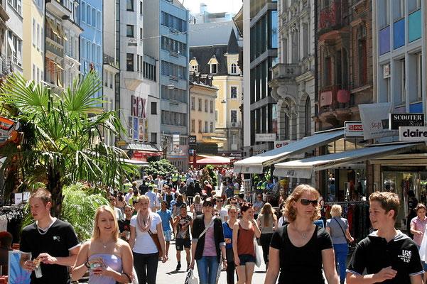 Steinenvorstadt City Basel