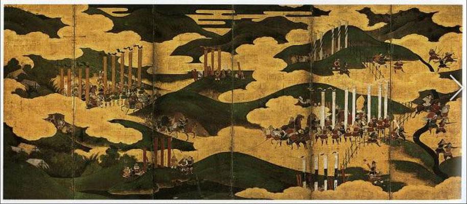 長篠合戦 名古屋市博物館所蔵
