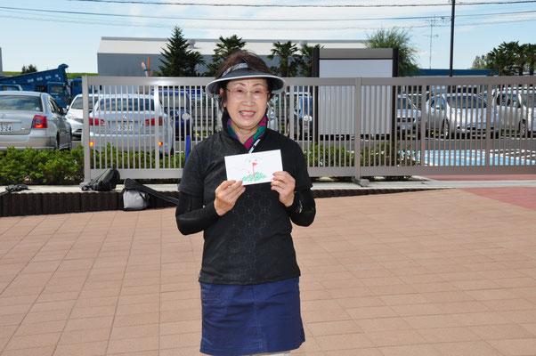 女子優勝の13期・青木さん