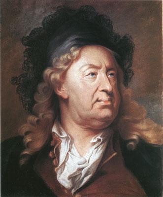 Hyacinthe Rigaud, Porträt des Everhard Jabach, Pastell auf Pergament. Verkauft an eine schweizer Privatsammlung.