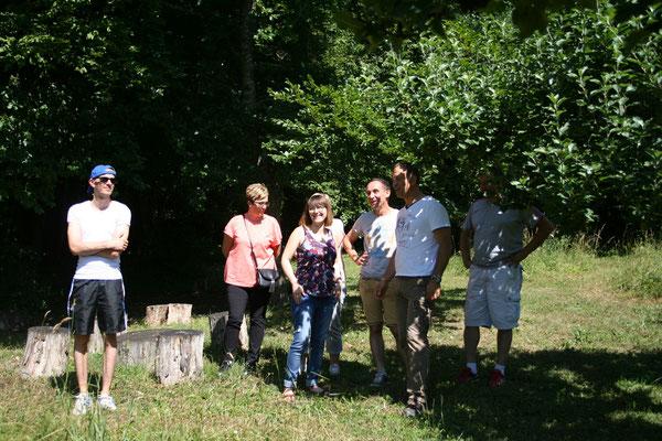 Visite du jardin de la Maison du Clément