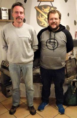 Die Sieger Hansueli und Michael!