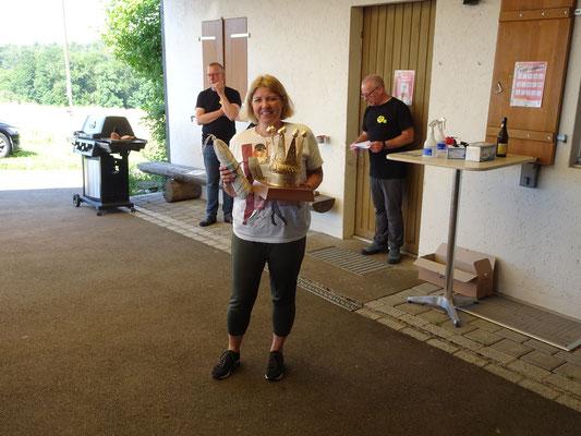 Den Wanderpokal und einen Salami gewonnen!