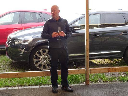 Alt- Präsident Werner Zberg