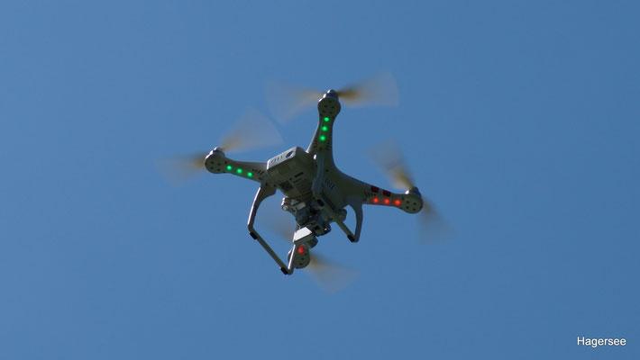 München, Rosenheim - Phantom Drohne über dem Hagersee