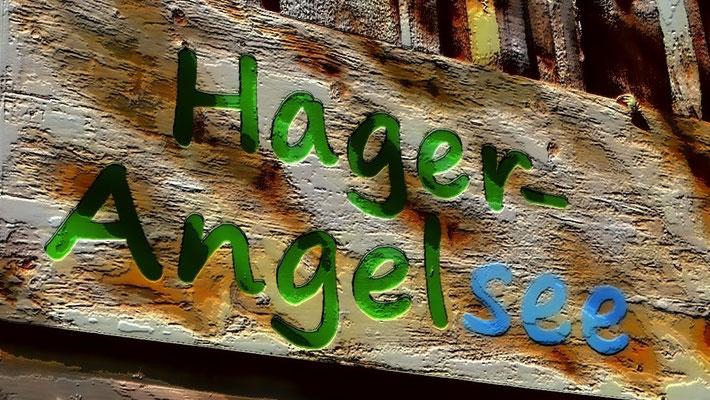 München, Rosenheim - Kössen: Angeln am Hagersee im Hagertal (Landschaftsschutzgebiet Hefferthorn, Fellhorn, Sonnenberg)