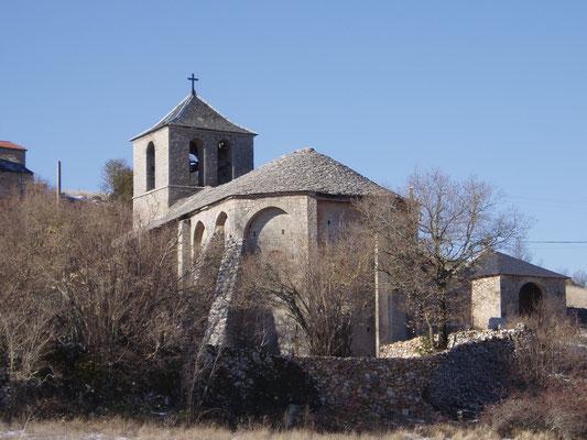 Eglise Romane de SAINT SAUVEUR DU LARZAC