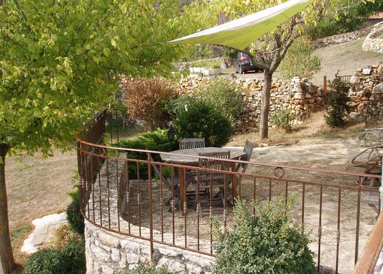Terrasse (été).