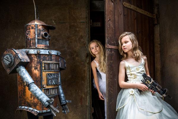 Styling und Roboterbau, Foto: I. Schmedemann