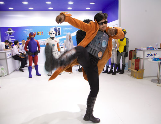 PV-Magazine, Superheroes -Kostüme, Foto: P.Alleyn
