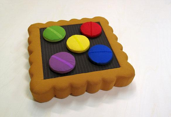 Bahlsen, Keks als Dartscheibe