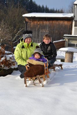 Sylvia, Benjamin & Andreas