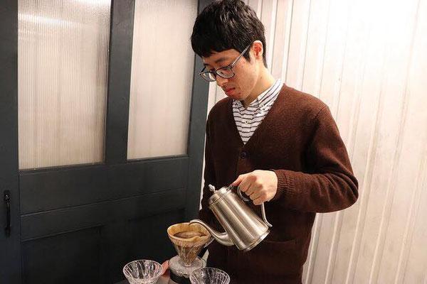 Took coffee の池田さん