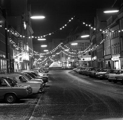 Kaiser-Max-Straße zur Weihnachtszeit