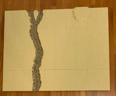 Flussbett und Wüste von Thomas