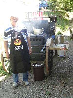 Spatz-Chef-Koch Mario Ciesa