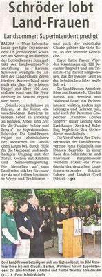 Kreiszeitung, 21.06.2011