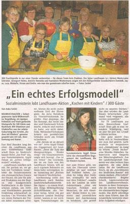Bericht der Kreiszeitung