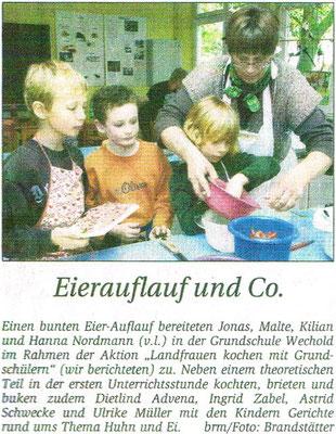 Kreiszeitung vom 09.10.2010