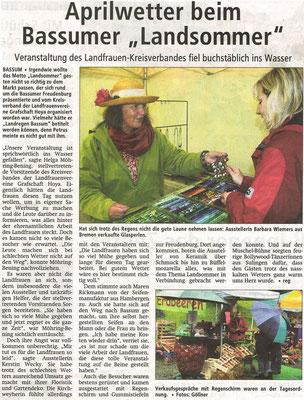 Kreiszeitung, 20.06.2011