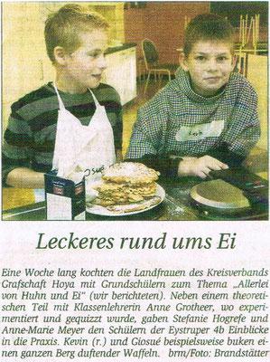 Kreiszeitung vom 08.10.2010
