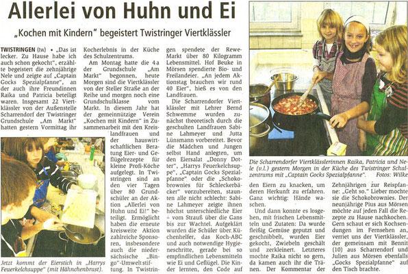 Kreiszeitung vom 06.10.2010