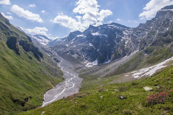 Der Hochfeiler samt Gletscher.
