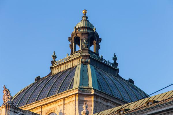 Die Kuppel vom Landgericht München
