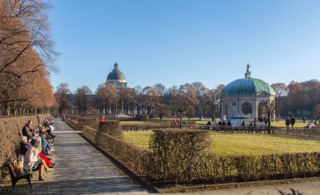 Der Münchner Hofgarten