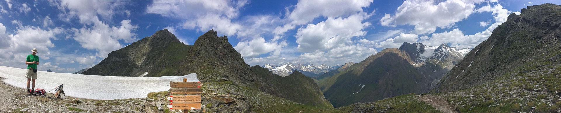 Ein letzter Rundblick mit einem fantastischen Panorama.