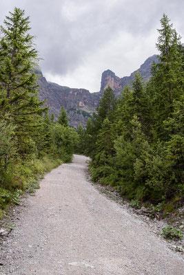 Der Weg zum Ramseidersteig ist doch lange und sehr steil!