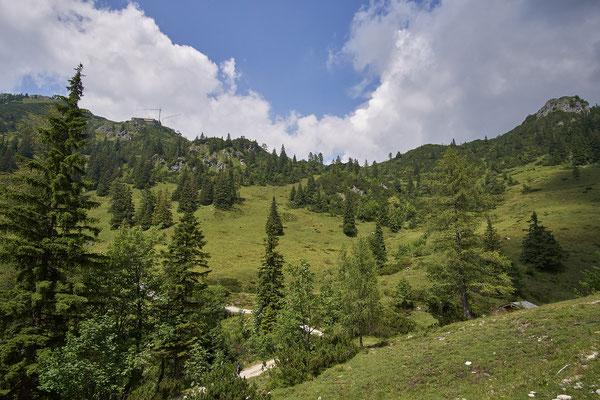 Die neue Bergstation verhandelt derzeit noch die Umgebung.