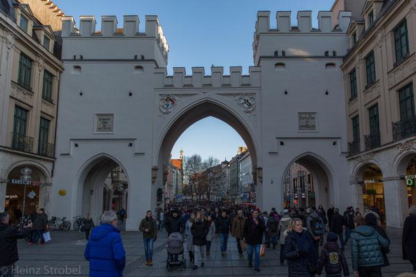München Karlsplatz, das Karlstor