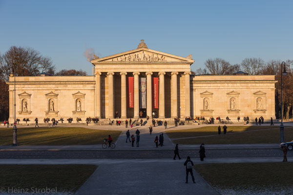 Glyptothek, Münchens ältestes öffentliches Museum; das einzige Museum auf der Welt, das allein der antiken Skulptur gewidmet ist.