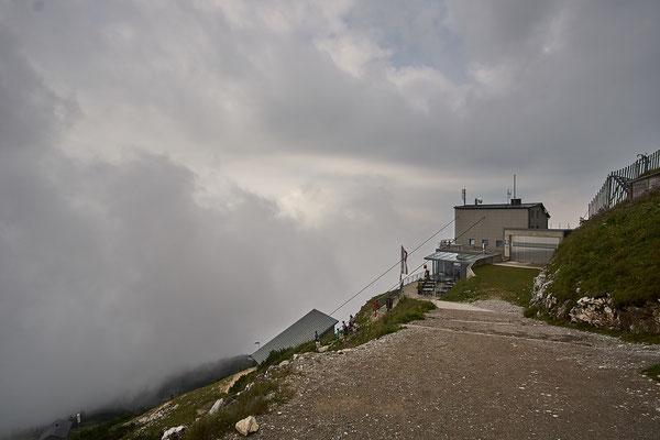 Die Bergstation der Untersbergbahn.