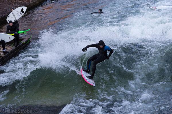 In München ist alles möglich, sogar ganzjähriges Surfen!