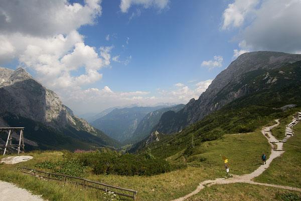 Blick ins Salzburger Land.