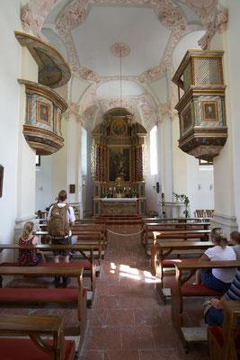 Die Kapelle von Sankt Bartholomä.