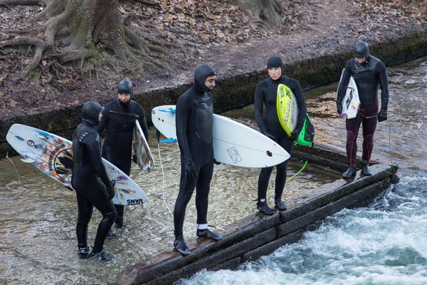 Surfen bei 0 Grad (oder noch weniger!)???