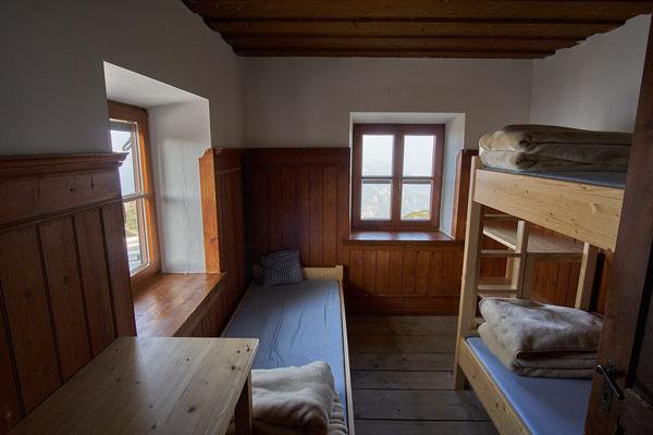 Ein Dreibettzimmer nur für uns!