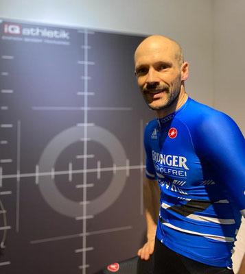 Optimistischer Blick in die Zukunft: der Ironman-Doppelweltmeister Patrick Lange