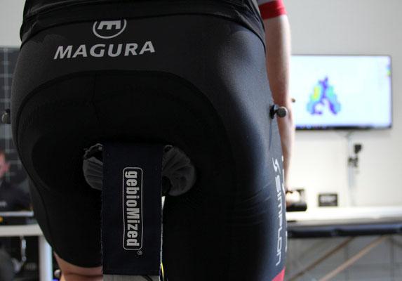 Satteldruckmessung mit modernster Technologie im Trainingsinstitut iQ athletik