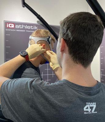 Flooorrriii absolviert eine Spiroergometrie mit Laktatdiagostik