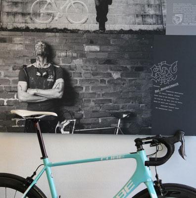 Ready to Rumble: das Wettkampfgerät von Hanno wartet auf seinen nächsten Renneinsatz! Das Rad ist baugleich mit den Rädern des Profiteams Wanty - Groupe Gobert
