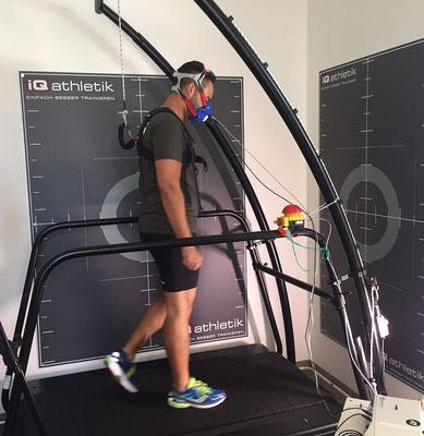 Die Basis für eine erfolgreiche Trainingsplanung: Spiroergometrie auf dem Laufband