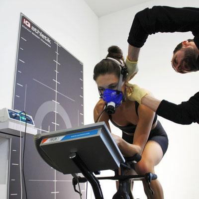 Maximale Information zur Trainingsoptimierung: Spiroergometrie mit Laktatdiagnostik