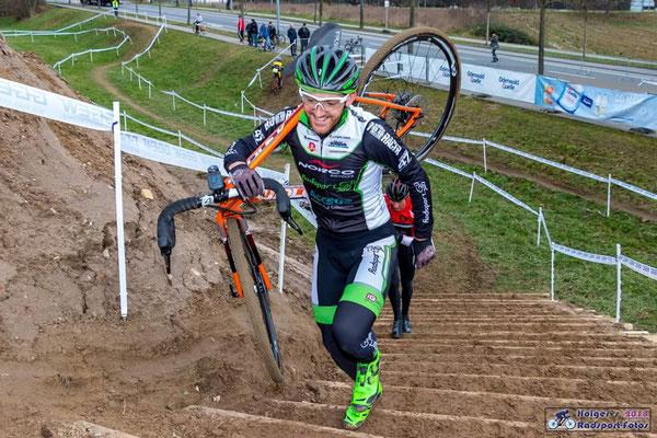 Deutsche Meisterschaft im Radcross in Bensheim (Foto: Holger Radsport-Fotos)