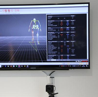 3D-Analyse der Sitzposition auf dem Mountainbike