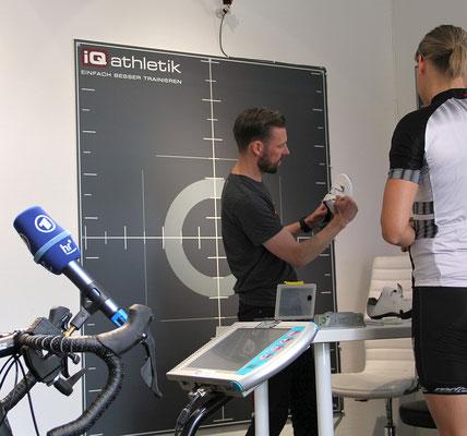 Bikefitting von Kopf bis Fuß: Das optimale Einstellen der Sitzposition beginnt mit den Radschuhen.