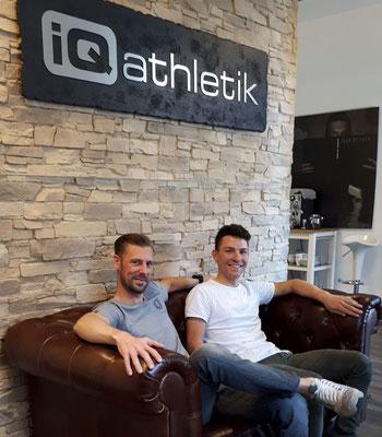Sportwissenschaftler Sebastian Mühlenhoff und Julian Stumpf vom Mountainbike Team TEXPA-Simplon